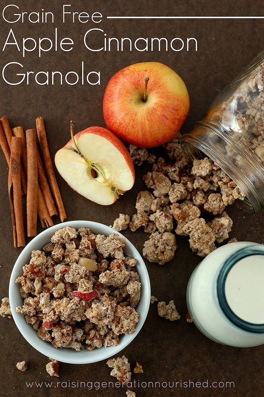 Cinnamon Granola. sunflower seeds, brazil nuts, pecans, salt, coconut ...