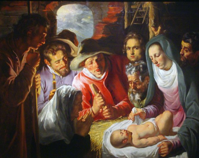 The Adoration of the Sheperds