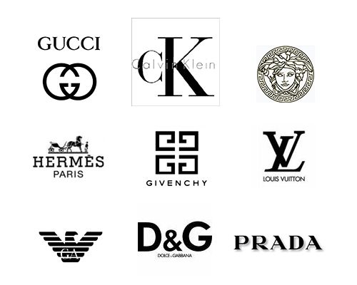 86 best designer brand logos images on pinterest logo for Expensive wallpaper companies