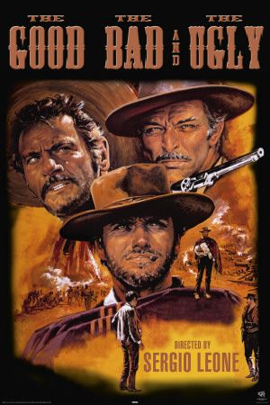 Good, Bad And The Ugly: An epic Spaghetti Western in which the a variety of archetypes are explored. Although we know who each archetype is, the lines are blurred through the anti hero and villains who show rhyme to their reason. This film also has one of the greatest if not the greatest soundtrack of all time by Ennio Morricone.