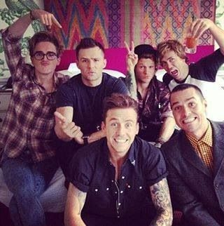 McBusted! Saw them at the 02 on the 24/04/14, I felt like I was about 14 again! Been a huge Busted & McFly fan since day one & to see them join forces was unreal! #mcbusted x