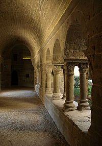 Claustro de Sant Benet, San Fructuoso de Bages. Barcelona.