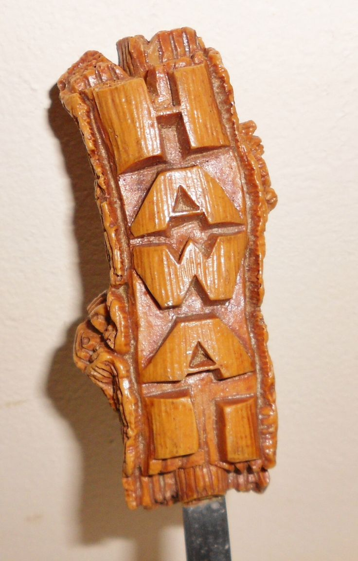 Vintage Hawaii Letter Opener Tiki Bar 1960's MARKED Coco Joes Hawaii RELOCATION SALE by notdomesticated on Etsy https://www.etsy.com/listing/245818313/vintage-hawaii-letter-opener-tiki-bar