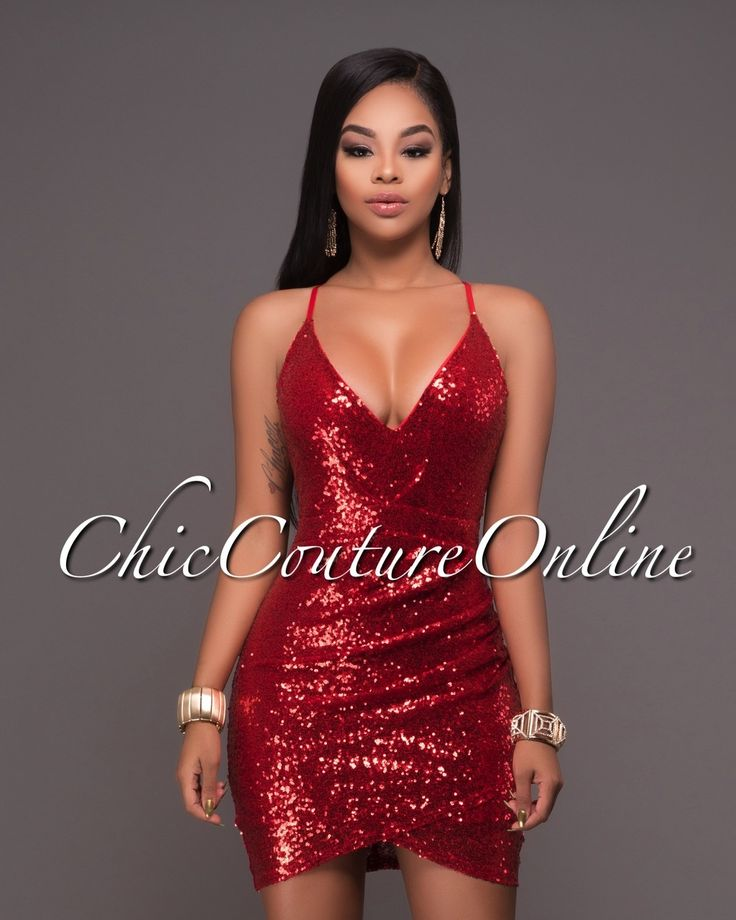 Chic Couture Online - Brookstone Red Sequins Mini Dress.(http://www.chiccoutureonline.com/brookstone-red-sequins-mini-dress/)