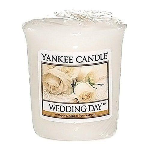 Yankee candle 578438E Bougie votive senteur Jour de Noces 49 g Blanc