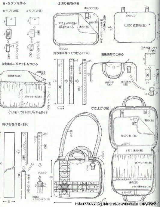 сумки в картинках схемах и таблицах