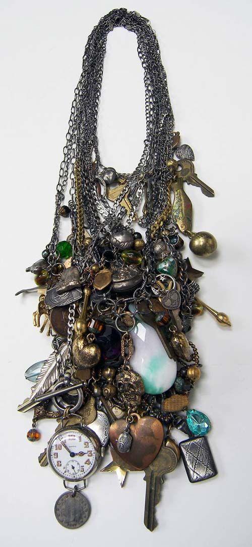 vintage collectibles necklace