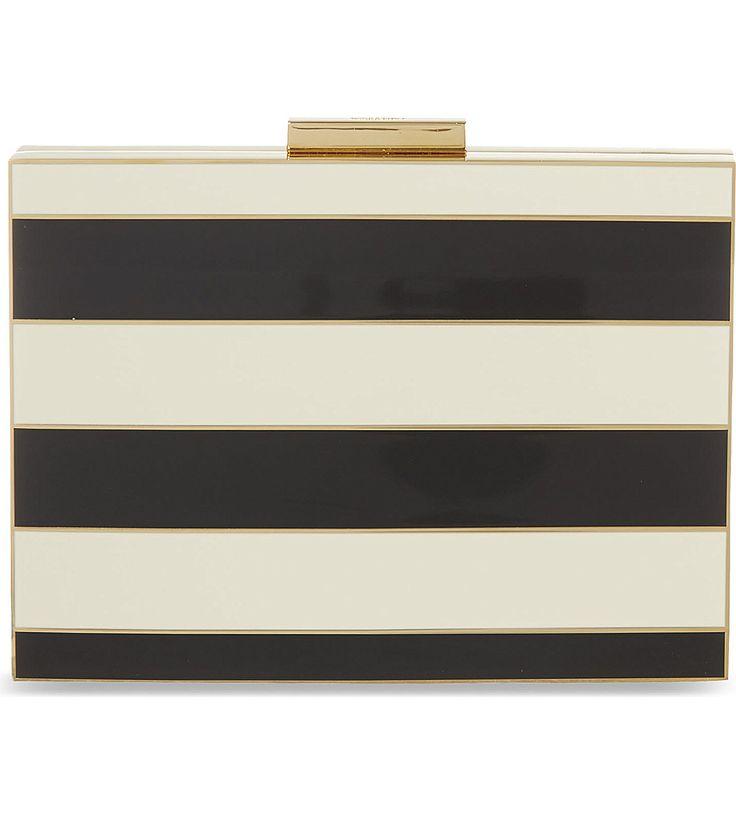 VALENTINO - Striped box clutch | Selfridges.com