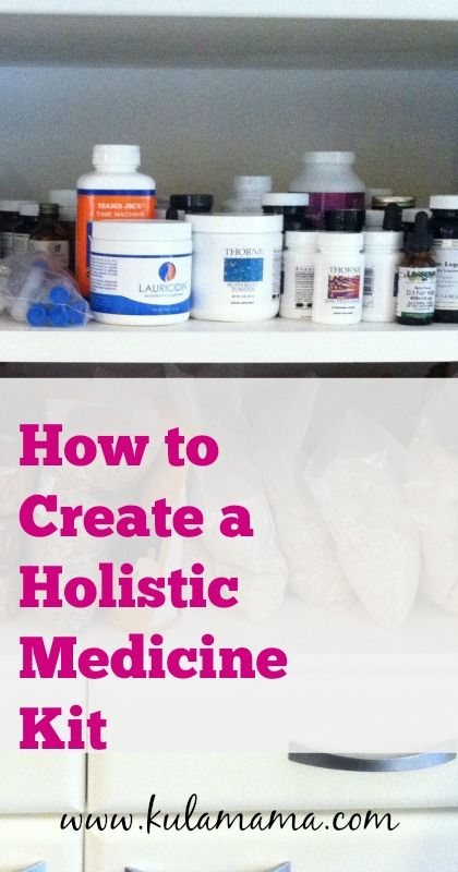 holistic medicine kit essentials from kulamama.com
