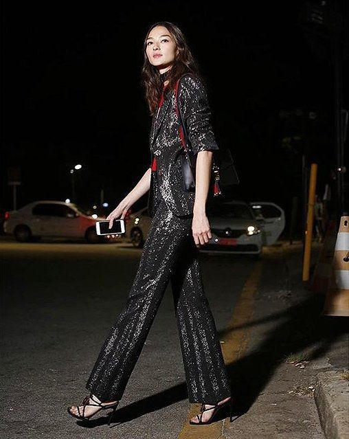Brazilian Model Bruna Tenório in Gucci