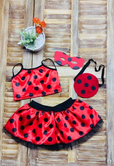 525931c0cc Compre fantasia ladybug no Elo7 por R  39