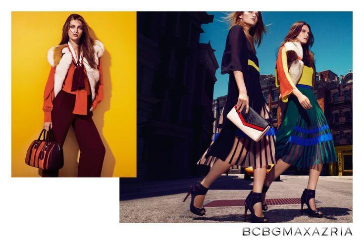 Elena Melnik & Ella Kandyba Are Bohemian Luxe for BCBG Max Azrias Fall 2012 Campaign