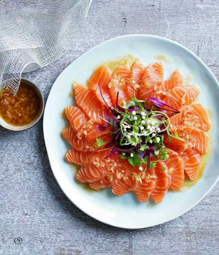 Treat yourself to some snacks! http://amzn.to/2oEqnkm Salmon sashimi