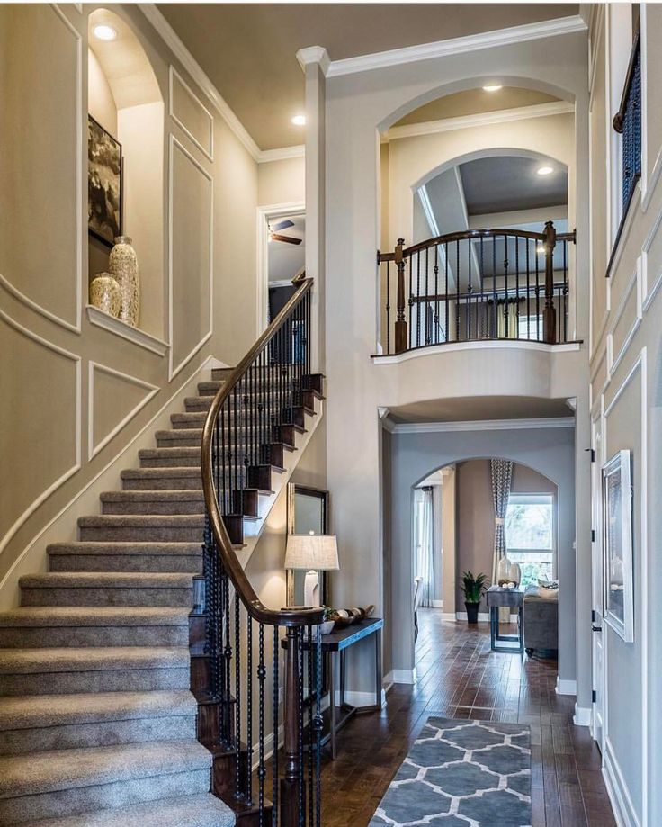 "51.7k Likes, 276 Comments - Interior Design & Home Decor (@inspire_me_home_decor) on Instagram: ""Welcome home!! What a sight! By @taylormorrisonhomes"""