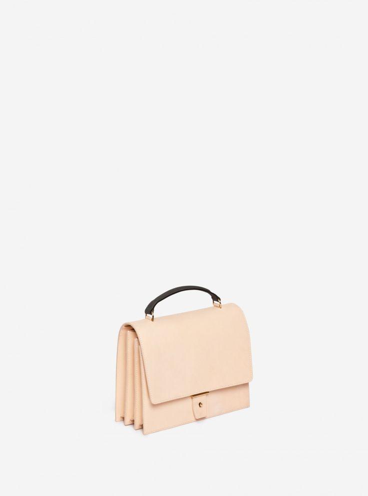ab3-handbag-natural-leather More Ab3 Handbags Natural Leath, Abs, Yang Natural, Natural Leather AB 3 in Natural