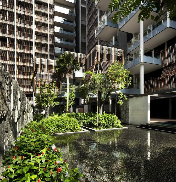 Apartment Complexes: The Goodwood Residence By WOHA Architects In Singapore