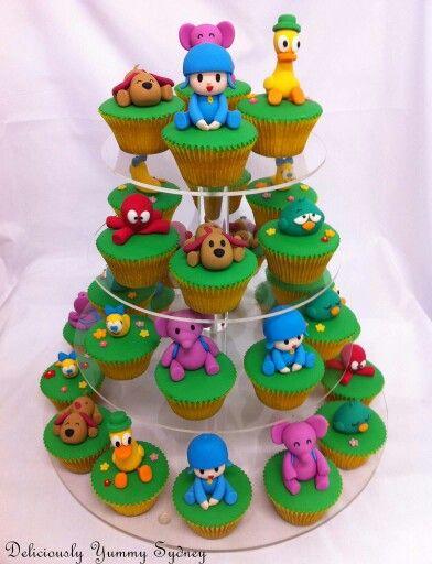 Pocoyo Cupcakes