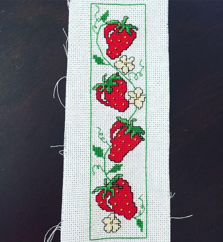 Strawberry Bookmark
