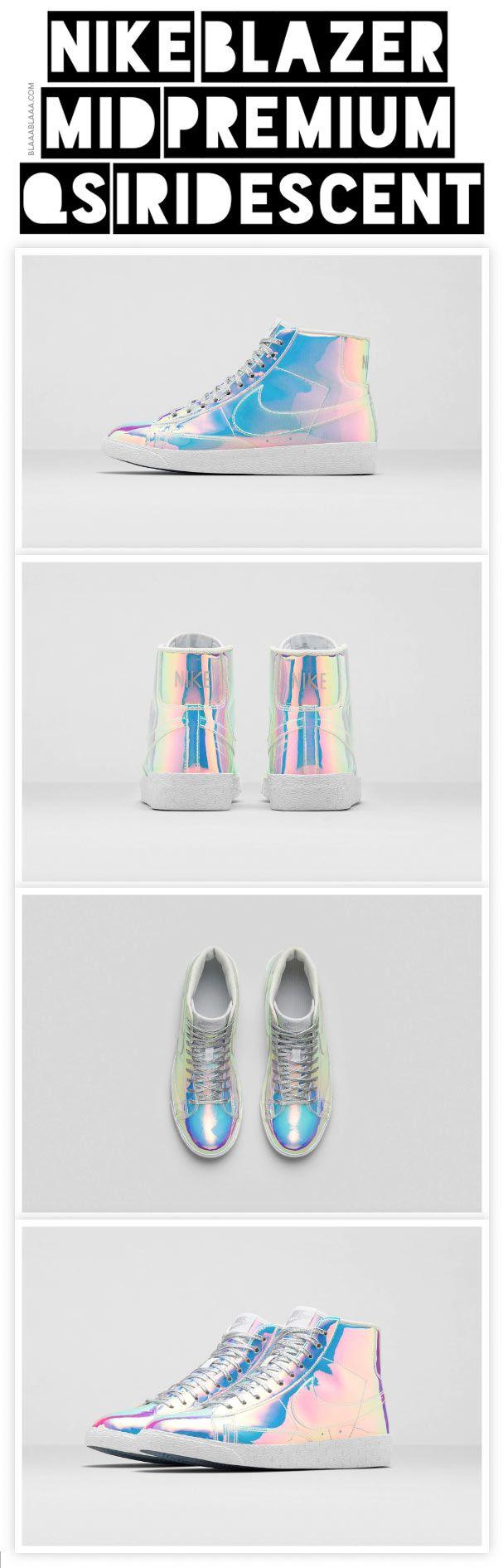 Nike Blazer Mid Premium QS Iridescent @simaruth