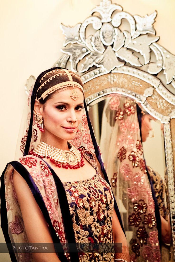 Wedding Photographer in Delhi, Neha Kapur in her wedding finery
