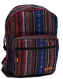 Multicolored Hippie Backpack