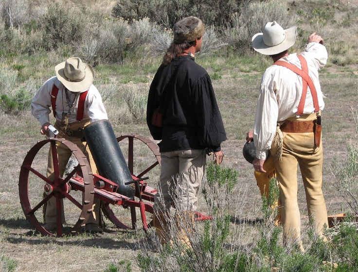 The annual Mountain Man Rendezvous is scheduled for May 3-4, 2013.  Fremont Indian State Park and Museum, Utah.