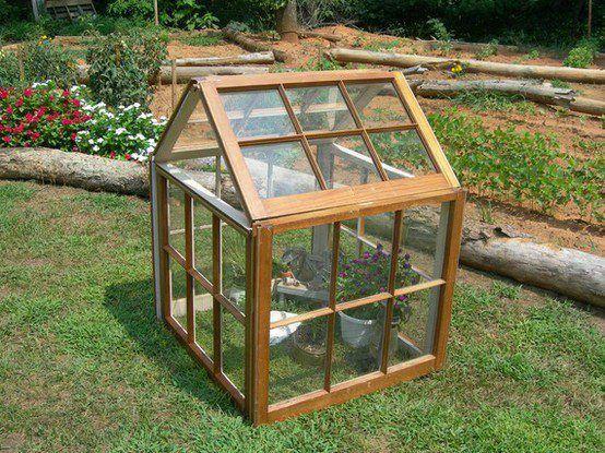 Best 25 window greenhouse ideas on pinterest old window for Do it yourself greenhouse plans
