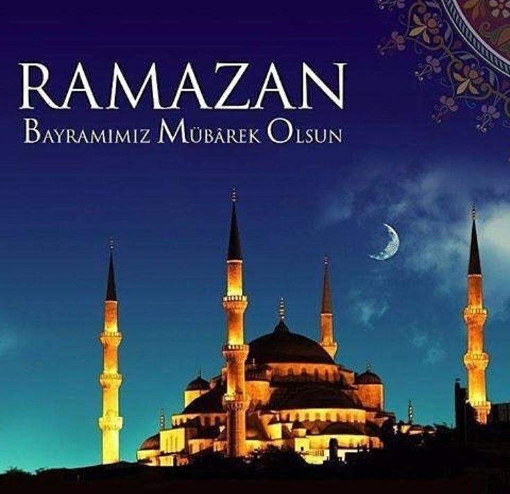 Цветы фоамирана, открытка с праздником ураза байрам на турецком языке