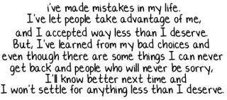 Lesson learned.