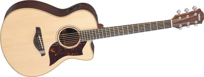 My acoustic guitar that changed my opinion of [some] yamaha guitars!