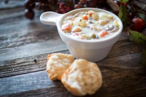 Feed The Family With This Hearty & Comforting Chicken Pot Pie Stew. Full Of Vegetables, This Stew Makes For A Filling Meal On A Crisp Fall Day!