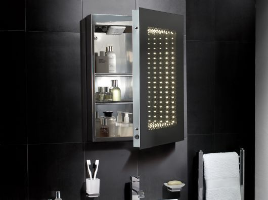 Inside The Delano Led Infinity Mirrored Bathroom Cabinet