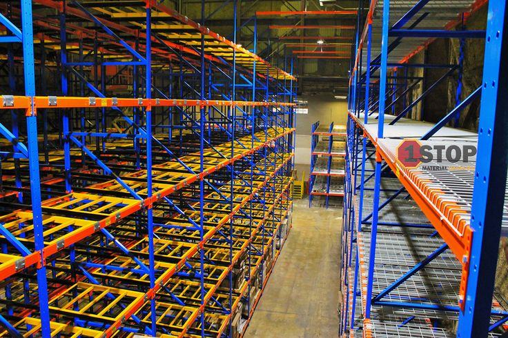 New pallet racking system for the pick area in a beer