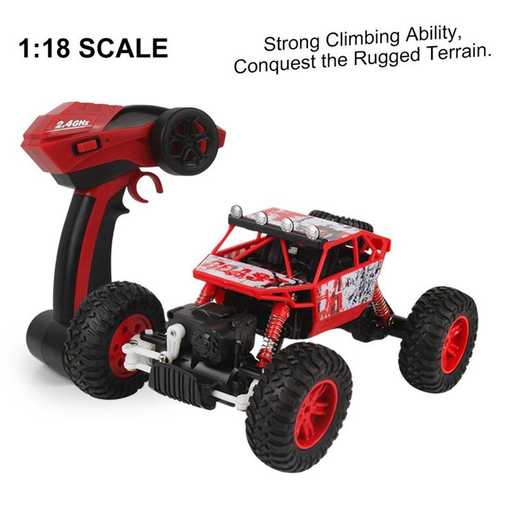 38.16$  Buy here  - RC Car 1/18 2.4GHZ 4WD Radio Remote Control Off Road RC Car ATV Buggy Monster Truck  Remote Control Climbing Vehicle Model Toy