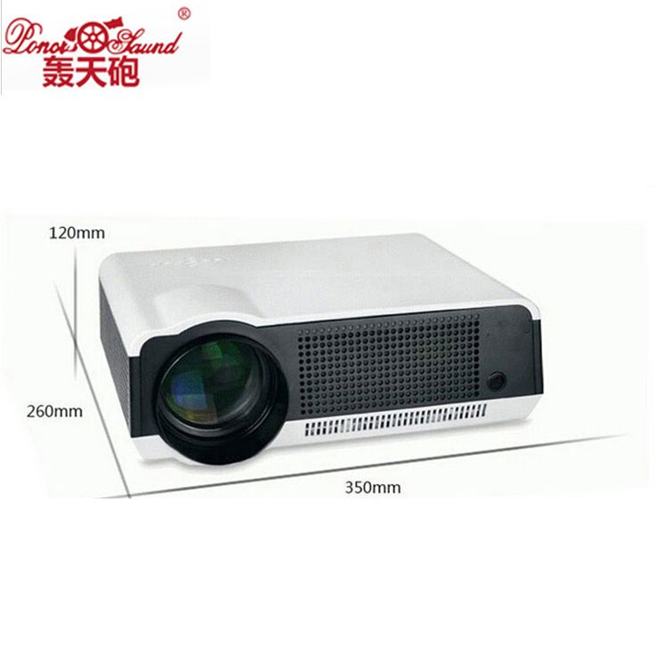 >> Click to Buy << Poner Saund Hot 5500 Lumens cheap Projector for Home Cinema Multimedia Video projector HD Projectors Beamer HDMI USB AV LED86 #Affiliate