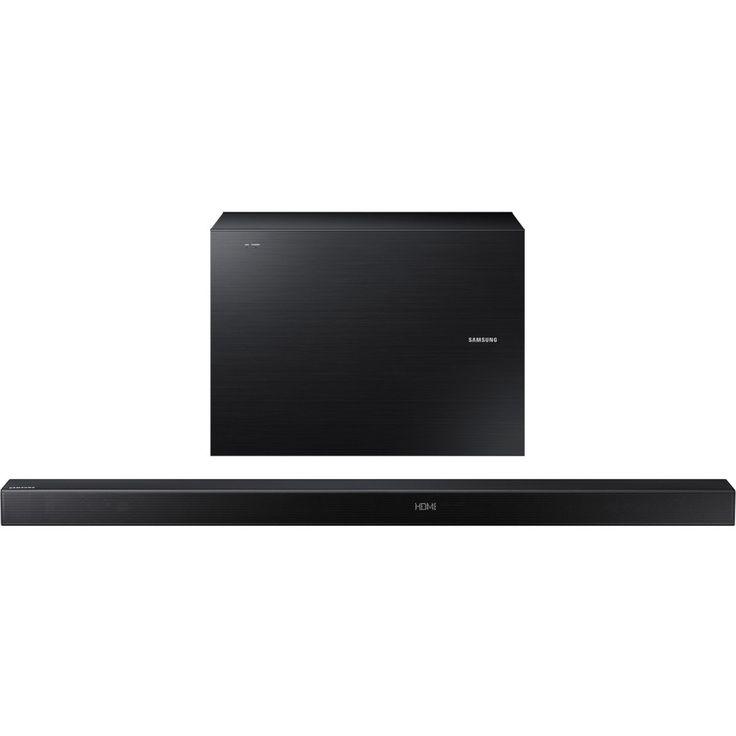 Samsung HW-K550 Sound Bar Speaker - Portable, Wall Mountable - Wireless Speaker(s) - Black - Surround Sound, Dolby Digital, Dolby Digital 5.1, DTS 2.0 Channel - Wireless LAN - Bluetooth - USB - Night Mode, Digital signal processing (DSP), Advanced Audio C