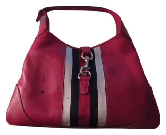 ce6e50f9798 Gucci Jackie O Excellent Vintage Rare Limited Edition Triangular Shape  Great For Everyday Hobo Bag