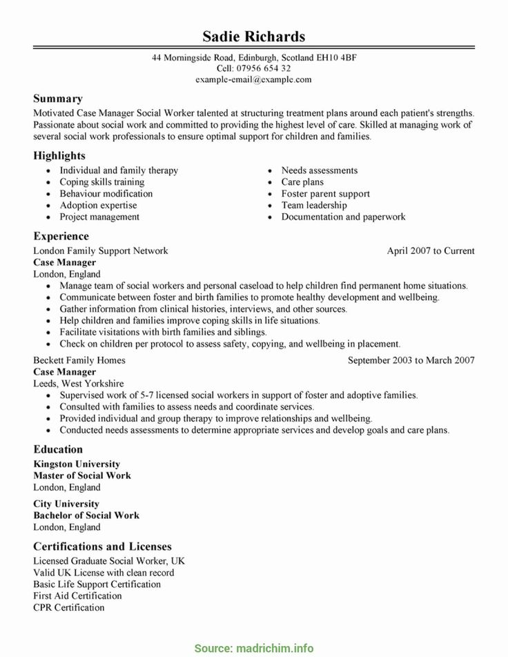 20 Healthcare Project Manager Resume in 2020 (With images