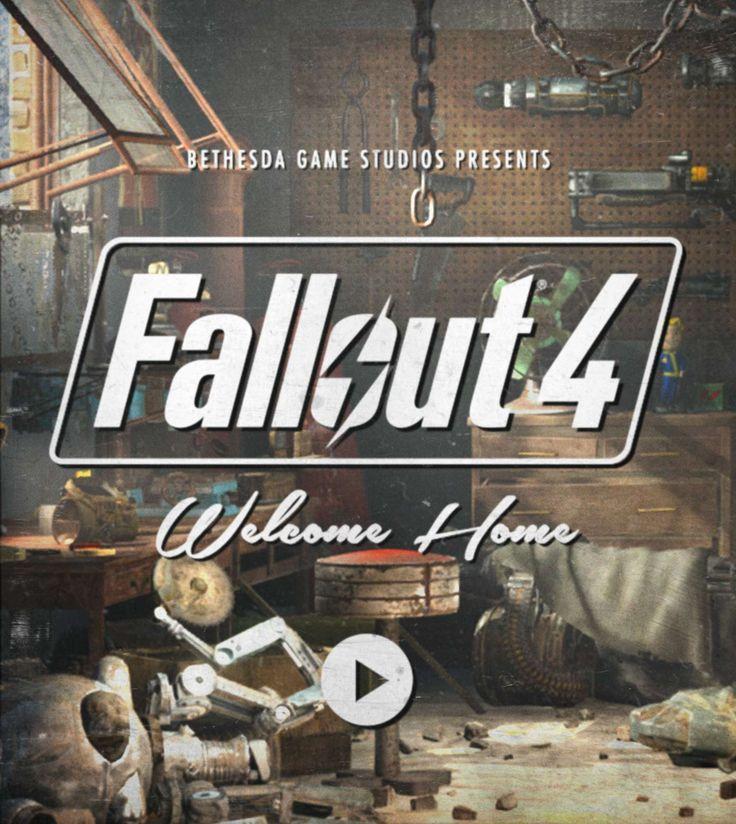 Fallout 4 | Announcement/ trailer @ http://youtu.be/GE2BkLqMef4