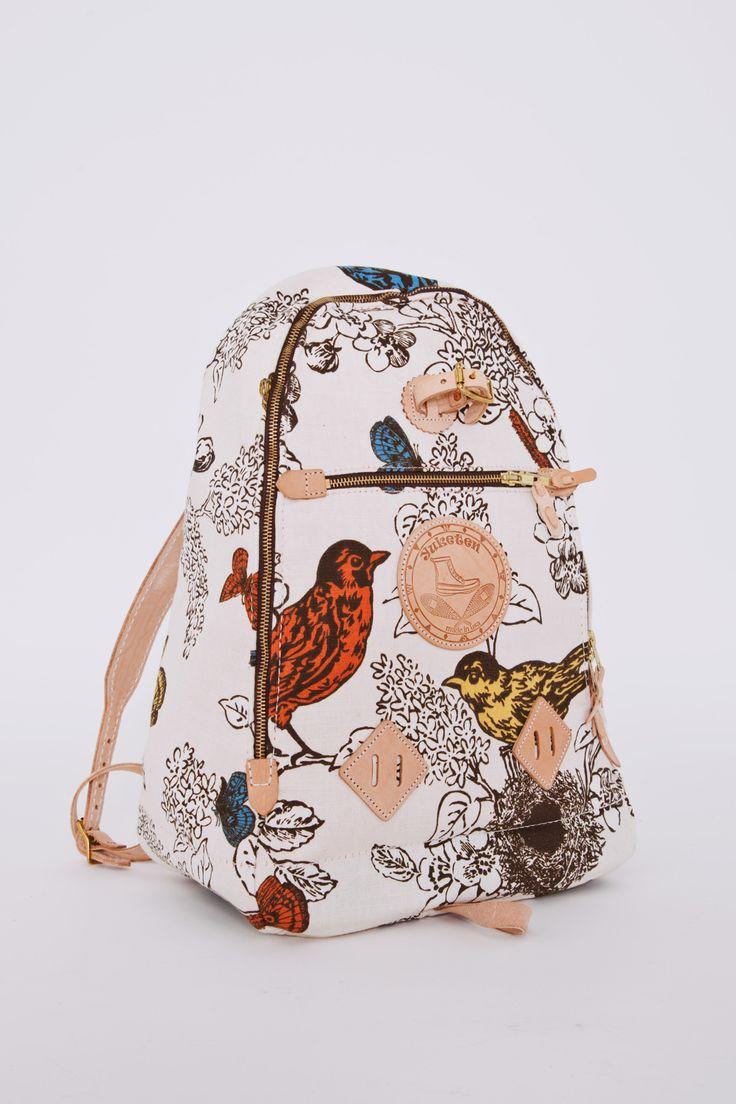 Yuketen Triangle Back Pack Birds