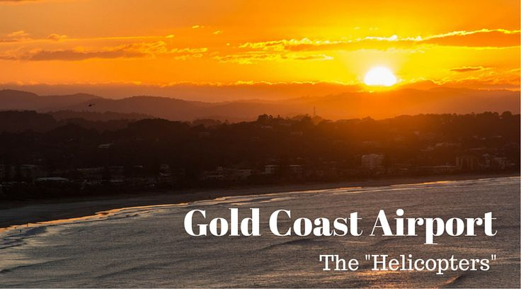 "Plane Spotting Gold Coast Airport - Part 3 ""Helicopters"""