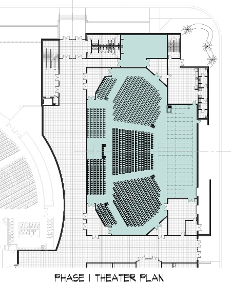 Auditorium Plan-Phase 1