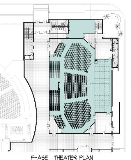 Auditorium Plan-Phase 1