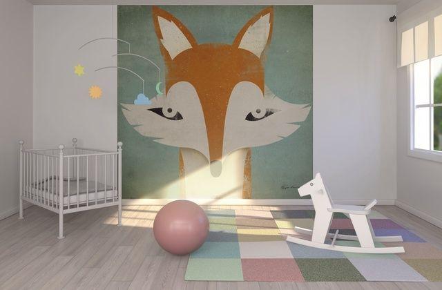 Ryan Fowler - Fox - Wall Mural & Photo Wallpaper - Photowall