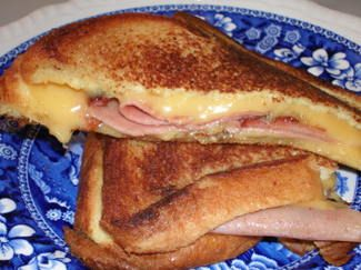 Best sandwich growing up!  Fried Bologna and Cheese Sandwich (with Mayonnaise!)