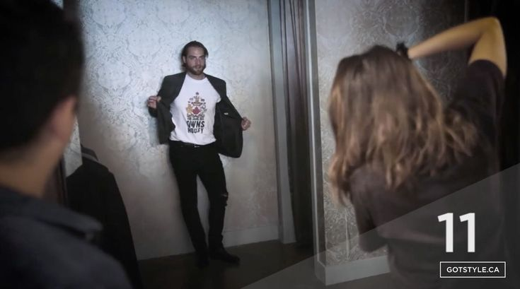 """During the World Cup of Hockey, Washington Capitals goaltender Braden Holtby did a modeling gig with GOTSTYLE, a Toronto-based retail store. Not only did Holtby try on a few suits and t-shirts for the brand, he also answered 20 questions for the company's YouTube channel. In the video, we learn that Holtby's celebrity man crush is Derek Jeter and that his biggest weakness, among """"many,"""" is that """"I'm not very socially outgoing."""" Holtby also can't help but laugh after he names his favorite…"""