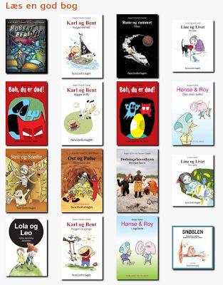 Skolestuen: Gratis danske, læs-let e-bøger for børn