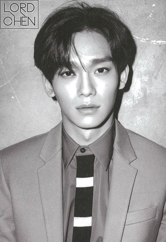 HOLY SHEEEEEEEEEET LOOK AT THIS MOFO!?! WTF CHEN DO NOT GIVE ME THAT SEXY LOOK