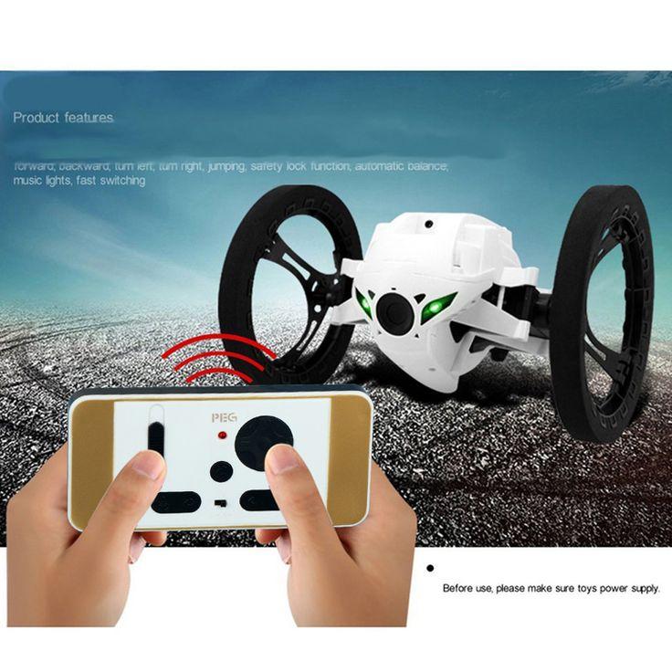 RC Rebond Saut De Voiture 4CH 2.4 GHz avec Flexible Roues Robot Voiture Musical Clignotant De Voiture À Distance Toys Meilleur Enfants Cadeau
