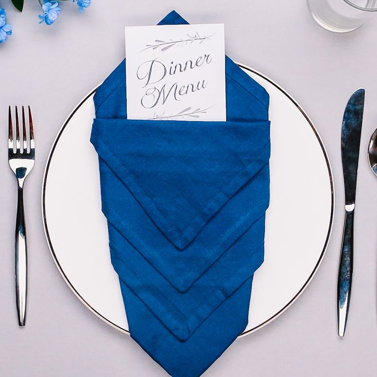 Step up your dinner party game and impress your guests with this cute and creative napkin folding hacks. Grab some fun colored napkins and get to folding!